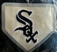 Pottery Barn Teen Chicago White Sox FULL QUEEN duvet navy MLB BASEBALL patch