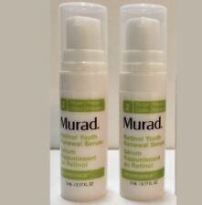 2 (x) Murad Retinol Youth Renewal Serum (Expires 10/18) 0.17 fl oz
