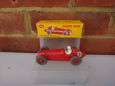 VINTAGE DINKY TOYS No 232 ALFA ROMEO RACING CAR WITH ORIGINAL BOX