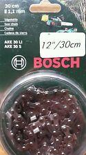 """savers choice original Bosch AKE-30 Chain F016800256 12"""" Chainsaws 3165140396455"""