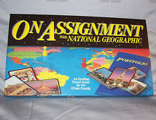 """Homeschooling Resource """"On Assignment with National Geographic"""" Board Game / NEW"""