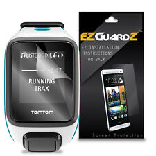 2X EZguardz LCD Screen Protector Skin Cover HD 2X For TomTom Runner 2 GPS Watch