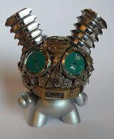 Kidrobot Exquisite Steampunk Watch Parts Dunny Series BLUE EYES Dan Tanenbaum