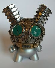 Kidrobot Exquisite Steampunk Watch Parts Dunny Series BLUE EYES Dan Tanenbaum