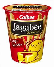 Calbee Jagabee Butter Soy sauce 40g x 12 cup Japan