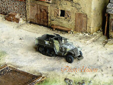 WW2 1:144 Scale Wargame Diorama US M3 Half Track Armor Vehicle Model NMT 424x