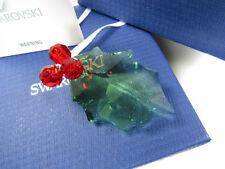 SWAROVSKI CRYSTAL Holly Leaf Christmas ORNAMENT W/ BOX 9400 000 102 / 870001 III