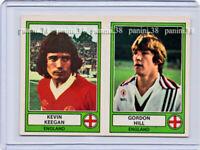 "RARE !! Vignette KEEGAN - HILL Sticker n°71 ""EURO FOOTBALL 78"" PANINI"