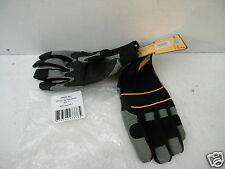 DEWALT HEAVY DUTY GEL PALM POWERTOOL GLOVES SIZE 10 DPG33L