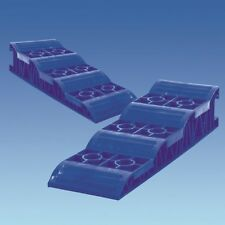 Caravana/Autocaravana azul nivelación rampas estos Levellers se venden como un par