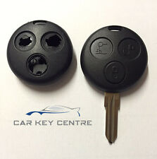 Repair For Smart Car Key Fob 3 Button Remote Case City, ForTwo, Roadster, Pulse