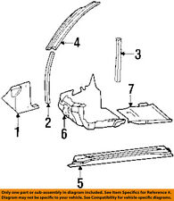 MERCEDES OEM 95-97 S600 Interior-Winshield Pillar Trim Right 14069052267C79