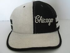 Chicago Black and Tweed Style Baseball Cap One Size Fits All