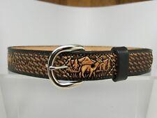 Men's New Leather Western Belt 46 48 50 52 54 56 58 60