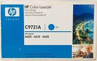 HP C9721A 641A Toner Original Cyan Für HP Colorlaserjet 4600/4610/4650