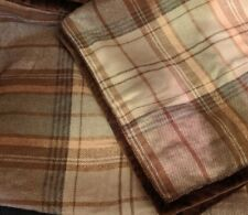 2 Ralph Lauren Shetland Manor Plaid Euro Pillow Shams - New without Package