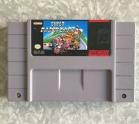 SNES Super Mario Kart Nintendo Authentic Cartridge Cleaned & TESTED Fast Ship!