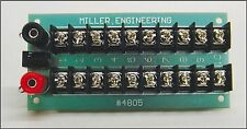 MILLER ENGINEER 4805 Animated Sign Lighting Power Distribution Board FREE SHIP