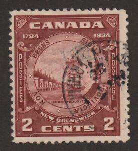 CANADA 1934 #210 New Brunswick Seal - Fine Used