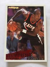 1994-95 Fleer NBA Basketball Card - Portland Trail Blazers #183 Clyde Drexler