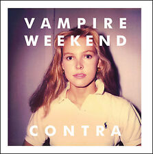 Vampire Weekend CONTRA 2nd Album +MP3s & Poster NEW SEALED VINYL LP