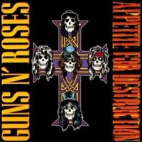 GUNS N´ROSES 'APPETITE FOR DESTRUCTION' LP VINYL NEU