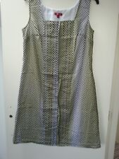 Size 16 spotted Monsoon sleeveless cotton dress