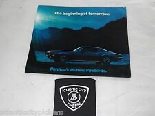 1970 PONTIAC FIREBIRD BASIC / ESPIRIT / FORMULA 400 / TRANS AM BROCHURE