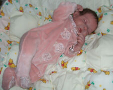 """BABY Sarah  by Phil Donnelly 19"""" reborn girl with magnet dummy & rooted hair"""