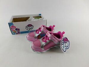 Esquire Footwear 'My Little Pony' Girls sz 9M Pink Sparkle Shoes Sneakers NIB