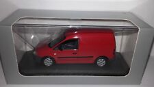 Minichamps 1:43 Volkswagen Caddy rood nieuw in VW dealer display doosje