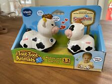 Vtech Toot-Toot Animals Mummy And Baby Cow - Brand New Sealed