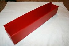"SPECIAL ORDER 16"" TEXTURED RED WORKBENCH WALL MOUNT CAN HOLDER SHOP ORGANIZER"