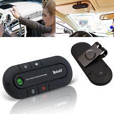 Bluetooth Handsfree Multipoint Speaker Car Kit Visor Clip For Samsung HTC iPhone