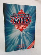 Mark Harris THE DOCTOR WHO TECHNICAL MANUAL 1983 Severn House First Edition