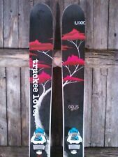 Line Mr. Pollard Opus Skis W/ Marker Griffon Bindings. 2013 year