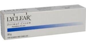 Lyclear Dermal Cream - Scabies Cream (30g)