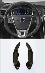 Pinalloy Black Metal Paddle Shifter Extension 2014-17 Volvo V40 S60 V60 SC60