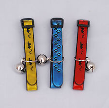 Designer Reflective Cat Collars by Moky (set of 3 collars) - Gold, Red and Blue