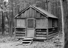 Camp Clewell Photo Magnet French Creek PA State Park group camp cabin WPA CCC