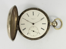 Hunter Case Spares or Repair Jw27 00006000 Antique Pocket Watch Coin Silver Full