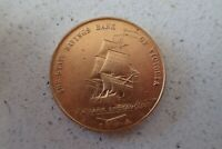 VINTAGE 1970 STATE SAVINGS BANK VICTORIA JAMES COOK BICENTENARY 1770 MEDALL (12)