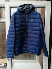 BNWT Mens Barbour Stormforce Harg Quilted Jacket Blue L XXL rrp£159 lightweight