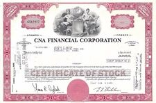 CNA FINANCIAL CORPORATION........1973 STOCK CERTIFICATE