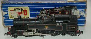 HORNBY DUBLO 3 RAIL EDL18  2-6-4 BR LIVERY BLACK LOCOMOTIVE WITH ORIGINAL BOX