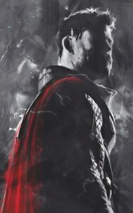 The Avengers Thor Marvel Movie Poster Print T1732  A4 A3 A2 A1 A0 