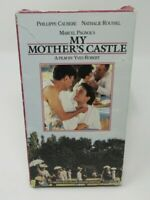 MY MOTHER'S CASTLE VHS VIDEO MOVIE, PHILLIPPE CAUBERE, FRENCH / ENG. SUBTITLES