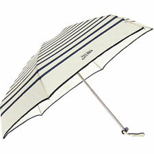 Jean Paul Gaultier Cream & Bleu à Rayures Parapluie