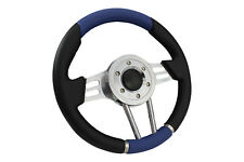 BLUE V2 SPORTS STEERING WHEEL 310mm 6x70mm fits Momo OMP boss kit