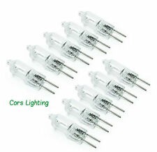 Ten 10-Pack JC 12V-10W G4 C-2R 12V Light Bulbs with G4 Bi-Pin Base 3000K Lamps